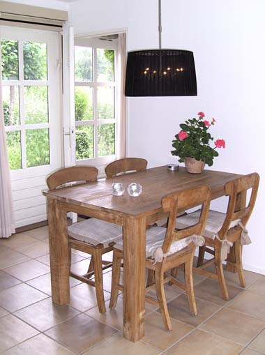 Bed and breakfast Groenekan - huiskamer